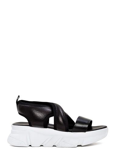 Sole Sisters Düz Sandalet Siyah - Antonia Siyah